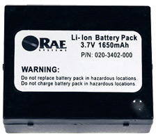 RAE Systems Li-ion Battery