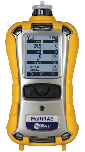 RAE Systems MultiRAE Gas Monitor