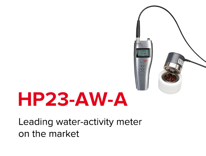 HP23-AW-A - Leading water-activity meter on the market