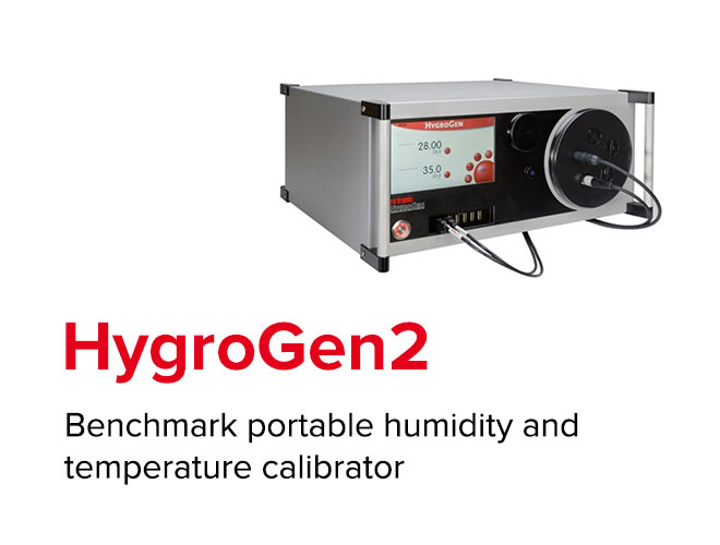 HygroGen2 - Benchmark portable humidity and temperature calibrator