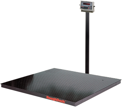 Rice Lake RoughDeck Series Floor Scale System