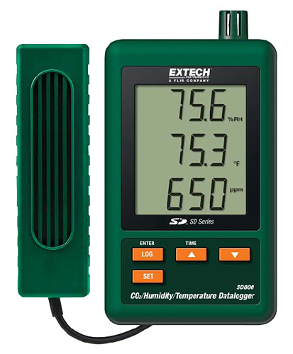 Extech SD800 CO2/Humidity/Temperature Data Logger