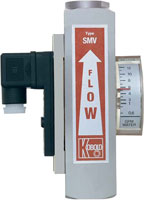 Kobold SM Variable Area Flow Switch/Flow Meter