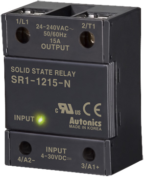 Autonics SR1 Series Single Phase SSR