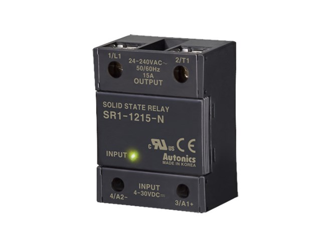 Autonics SR1 Series Single Phase Solid State Relay