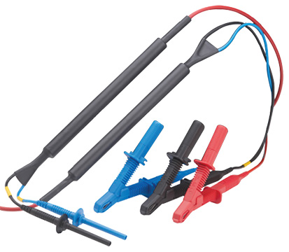 Megger Large Clip 15kV Screened Test Leads