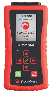 ETher NDE SigmaCheck-2 Eddy Current Tester