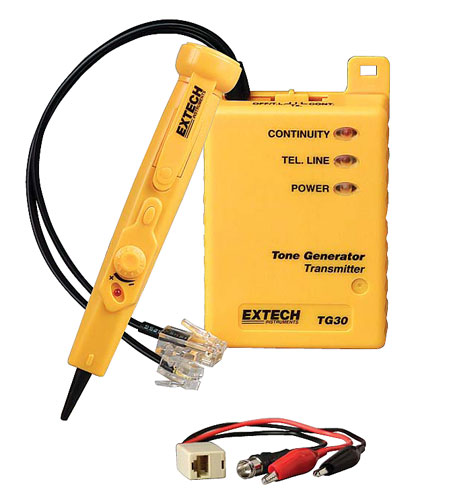 extech tg30 wire tracer and tone generator kit | wire ... volkswagen wiring diagrams extech wiring diagrams #14