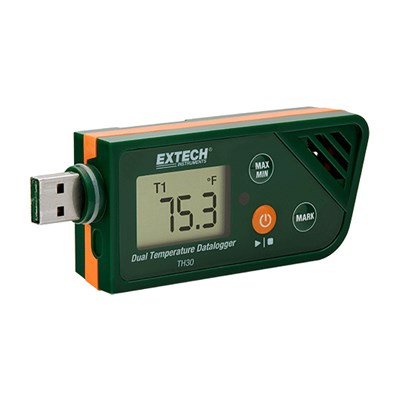 Extech TH30 Dual Temperature Data Logger
