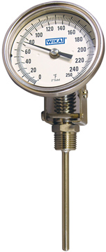 WIKA TI & TT Series Bimetal Thermometers