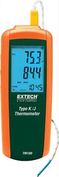 Extech TM100 Type K/J Thermometer