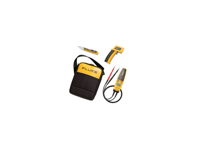 Fluke 62 / T+PRO / 1ACII IR Thermometer & Electrical Tester Kit
