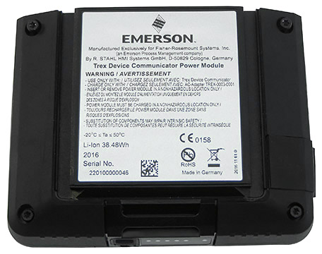 emerson rechargeable li ion power module instrumart. Black Bedroom Furniture Sets. Home Design Ideas