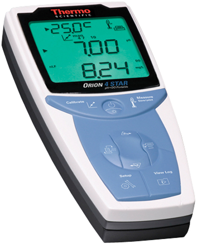 Thermo Scientific Orion 4-Star Plus Portable pH/Dissolved Oxygen Meter