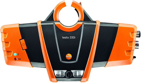 Testo 330i Flue Gas Analyzer
