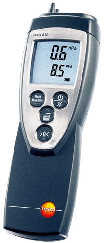 Testo 512 Series Digital Manometers