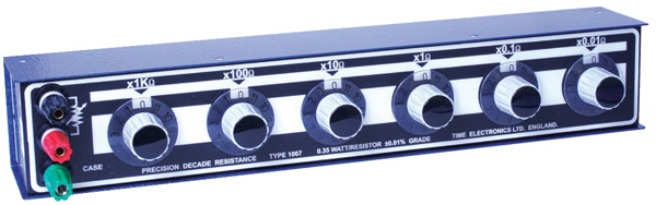 Time Electronics 1067 Resistance Decade Box