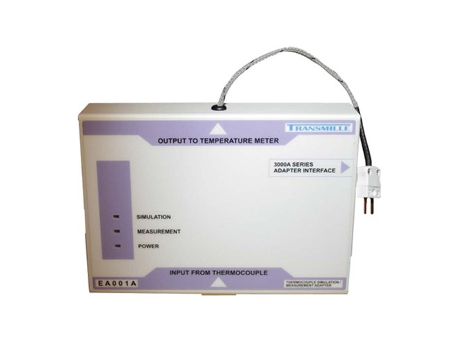Transmille EA001A Thermocouple Simulation Adapter