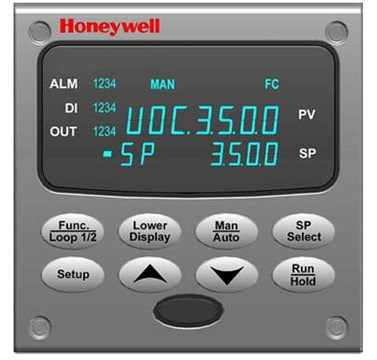honeywell udc3500 universal digital controller process controllers rh instrumart com Honeywell Programmable Thermostat Owner Manual Honeywell Home Alarm Systems Manual