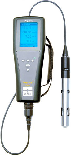 Ysi Conductivity Meters : Ysi pro dissolved oxygen conductivity meter do