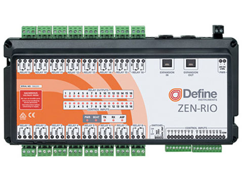 Define Instruments ZEN-RIO Relay I/O Expansion