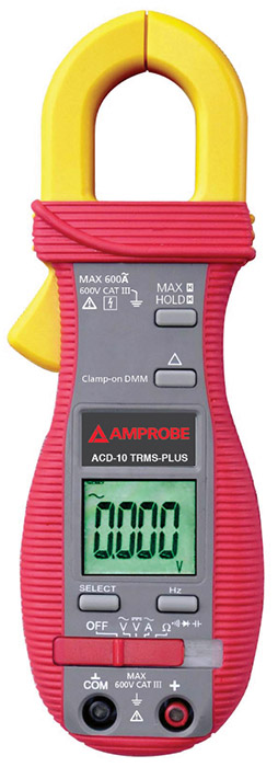 Amprobe ACD-10 TRMS-PLUS Clamp Meter