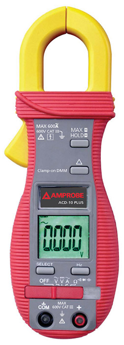 Amprobe ACD-10 PLUS Clamp Meter