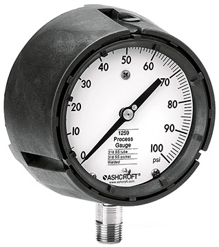 Ashcroft 1259 Analog Pressure Gauges