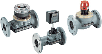 Badger Meter Industrial Turbo Turbine Flow Meter