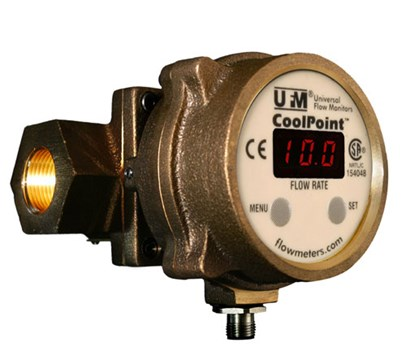 Universal Flow Monitors CoolPoint Flow Meter