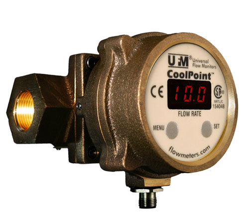 Universal Flow Monitors CoolPoint Flowmeter