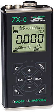 Dakota Ultrasonics ZX-5DL Thickness Gauge and Datalogger