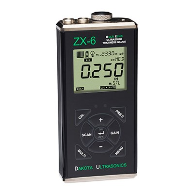 Dakota Ultrasonics ZX-6 Thickness Gauge with Multi-Echo