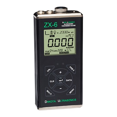Dakota Ultrasonics ZX-6DL Thickness Gauge and Datalogger