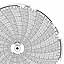 Honeywell 24001661-638  Ink Writing Circular Chart