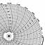 Honeywell 24001660-028  Ink Writing Circular Chart