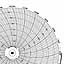 Honeywell 24001660-057  Ink Writing Circular Chart