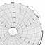 Honeywell 24001660-113  Ink Writing Circular Chart