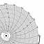Honeywell 24001660-158  Ink Writing Circular Chart