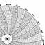Honeywell 24001660-636  Ink Writing Circular Chart