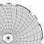 Honeywell 24001661-041  Ink Writing Circular Chart