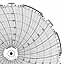 Honeywell 24001661-079  Ink Writing Circular Chart