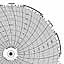 Honeywell 24001661-081  Ink Writing Circular Chart