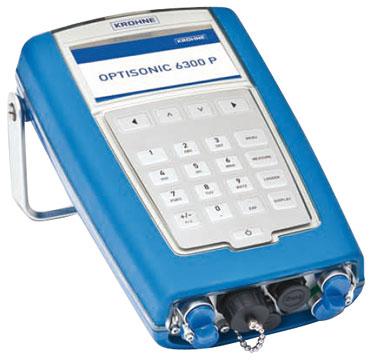 Krohne OPTISONIC 6300P Ultrasonic Flow Meter