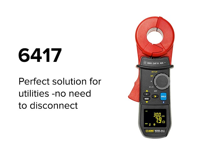 6417 - Perfect solution for utilities -no need to disconnect