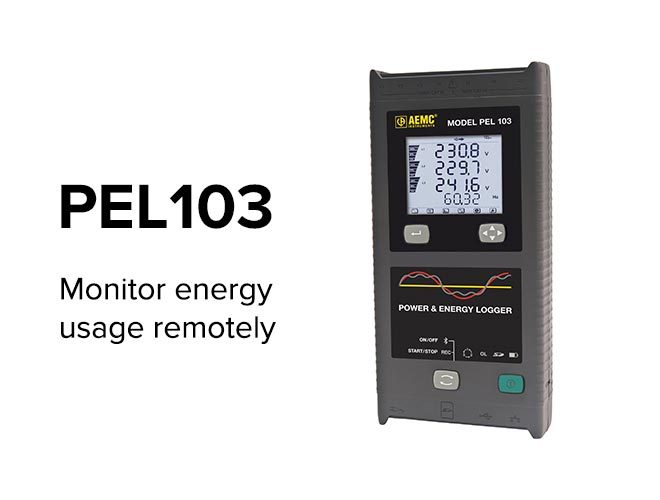 PEL103 - Monitor energy usage remotely