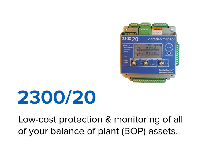 2300/20 - Low-cost protection & monitoring of all of your balance of plant (BOP) assets.