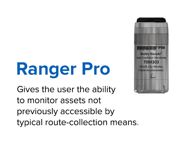 Ranger Pro - Gives the user the ability to monitor assets not previously accessible by typical route-collection means.