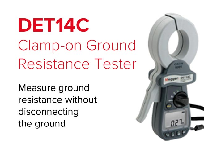 Measure ground resistance without disconnecting the ground