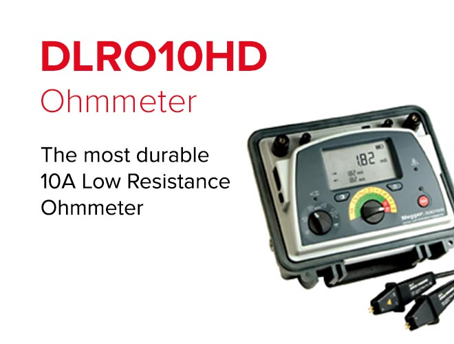 The most durable 10A Low Resistance Ohmmeter